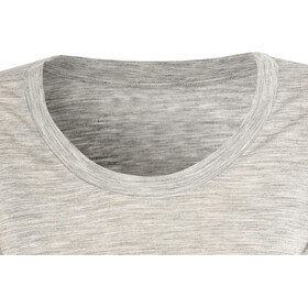 super.natural Oversize Tee - Camiseta manga corta Mujer - gris